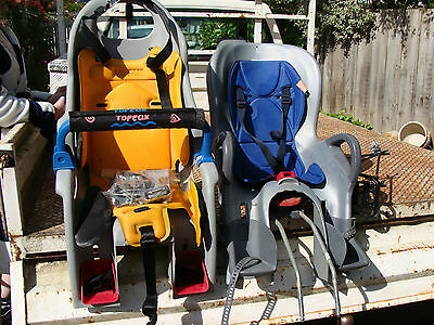 Two Bicycle Rear Mounted Child Toddler Bike Seats, Can Deliver