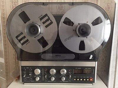 Revox B77 MKII Reel-To-Reel Tape Recorder in MINT condition