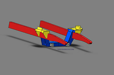 #18 MUSTANG II FRONT SUSPENSION 3D BLUEPRINTS Hot rod Plans Street rod Rat rod