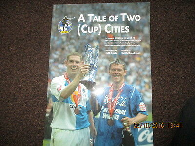 Bristol Rovers Promotion brochure 2006-07 Tale of Two (Cup) Cities