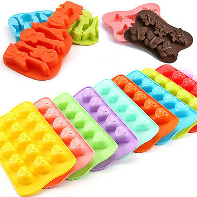 Silicone Soap Mould Cake Cookies Candy Chocolate Cupcake Baking Mold Handmade
