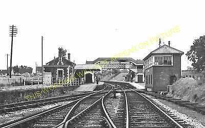 Hallatrow Railway Station Photo. Clutton - Midsomer Norton. Radstock Line. (12)