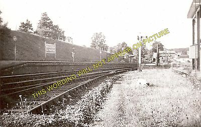 Hallatrow Railway Station Photo. Clutton - Midsomer Norton. Radstock Line. (3)