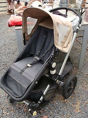 Bugaboo Pram With Bassinet And Many Accessories, Can Deliver