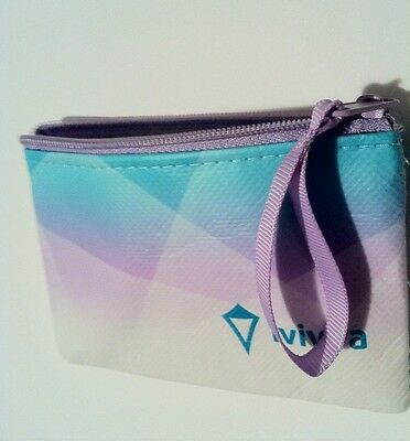 FREE BAG!  Ivivva By Lululemon MINI Coin Purse Makeup Hair Lipgloss Wallet I.D.