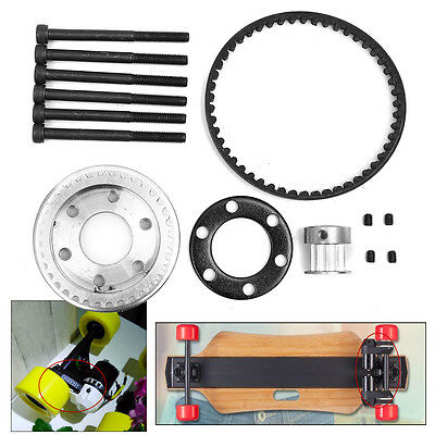 DIY Pulleys And Motor Mount For 83/90/97MM Wheels Electric Skateboard Parts Kit