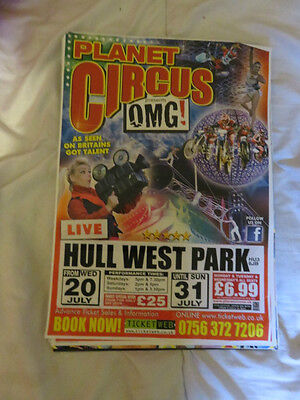 Planet Circus Poster Hull