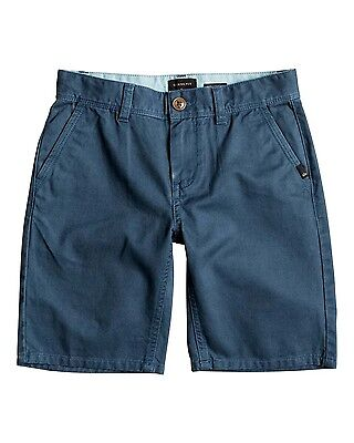 Quiksilver Everyday Boys Chino Walkshorts in Indian Teal
