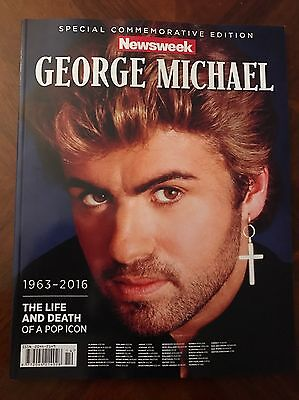 Great Special 100 Page George Michael Tribute Magazine Newsweek Mint