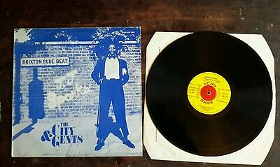 record lp reggae brixton blue beat j j sparks and the city gents   echo