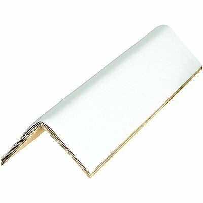 Edge Protectors Cased 0.16 3in x 3in x 24in White Pack of 100, New
