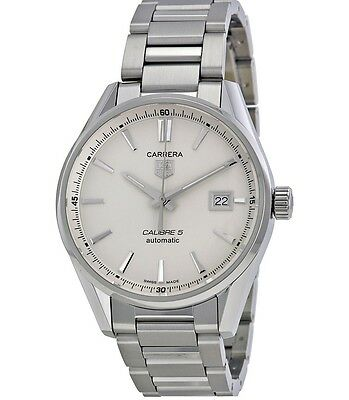 Tag Heuer Carrera Calibre 5 Automatic Watch - Brand New
