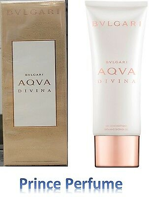 BULGARI AQUA DIVINA BATH AND SHOWER GEL - 100 ml