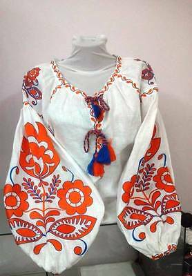 Ukrainian embroidery, embroidered blouse, any color, XS - 4XL, Ukraine