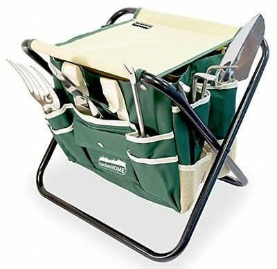GardeHome Folding Stool With FREE Bag and 5 PC Tools ALL-IN-ONE