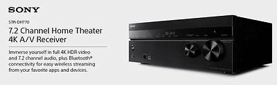 *NEW* Sony 7.2 Channel Home Theater 4K AV Receiver (STRDH770)