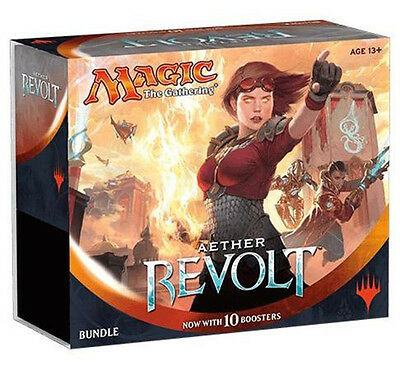 Aether Revolt - Bundle - Magic The Gathering 10x Booster  Packs Included