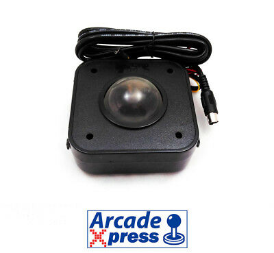 Arcade Trackball 4.5cm ps2 for pc LED Iluminado