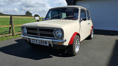 Classic Mini Clubman 1100. Relist due to time waster.