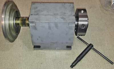 Emco Compact 10 Lathe D1-4 Spindle, Wrench & Pulley     0115