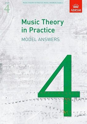 ABRSM Music Theory in Practice Model Answers Grade 4 - BRAND NEW ! 9781848491175