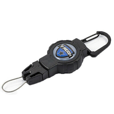 """T-REIGN Outdoor Products 0TRG-311 Retractable Gear Tether Fishing Small, 4-24"""""""