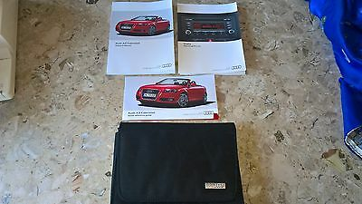 Genuine Audi A3 Cabriolet Owners Manual Handbook Wallet – 05/2011 Edition