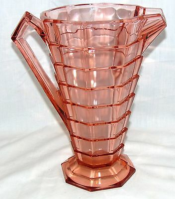 """Indiana TEA ROOM PINK *10"""" 64 oz PITCHER* AS IS*"""