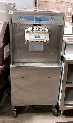 Used Taylor Y754-33 Soft Serve Two Flavor With Twist Ice Cream Machine