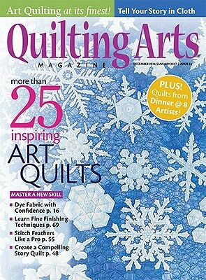 Quilting Arts Magazine December 16/January 17