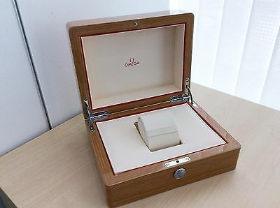 New Authentic Omega Wood Watch Box Case