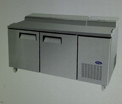"""Atosa MPF8202 67""""Refrigerated Pizza Prep Table"""