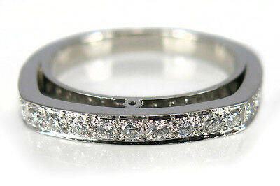 Damen Ring mit 15 Brillanten ca. 0,31 ct TW/vs1 950/- Platin [BRORS 11038]