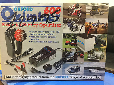 NEW Motorcycle / Scooter Battery Charger - Oxford Oximiser @ KEVSBIKES - £29.95
