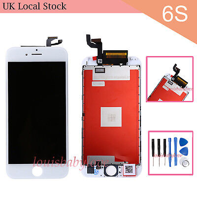 """For IPhone 6S 4.7"""" White LCD Display Touch Screen Digitizer Replacement Assembly"""