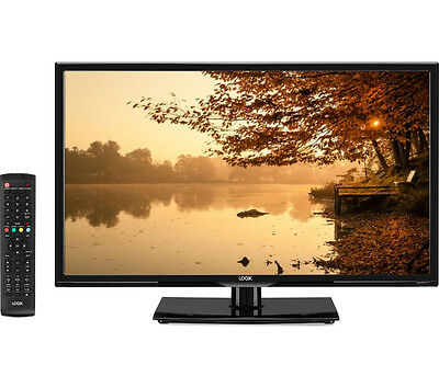 """LOGIK L24HED16 24"""" LED TV with Built-in DVD Player"""