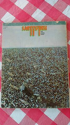 WATTSTAX The Living Word 1973 Song Book STAX RECORDS Concert