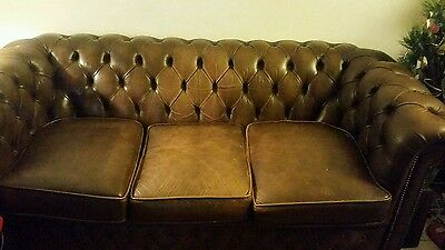 canape chesterfield 3 places