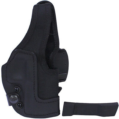 Frontline KNG967-BK KNG Thumb Break Belt Holster Walther PPX, Black, Right Hand