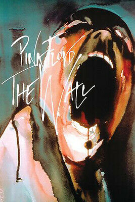 """Pink Floyd The Wall Scream Poster Free US Shipping Approximately 24"""" x 36"""""""