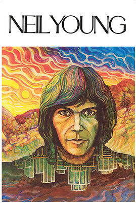 Neil Young 1st Album Cover Poster Free US Shipping 24 x 36
