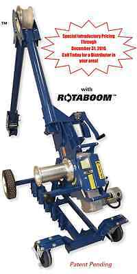 Current Tools 2 Speed Cable Puller w/ Carriage 10,000 lb Capacity Model 100