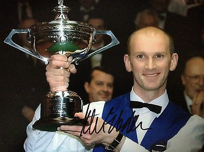 Peter Ebdon - Top Snooker Player - Excellent Signed Photograph