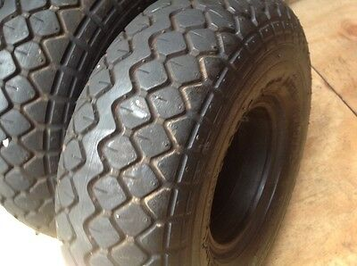 2 solid mobility scooter tyres puncture proof
