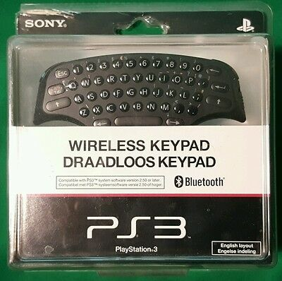 Wireless Keypad PS3 - new condition
