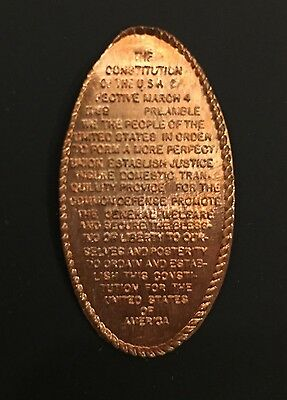Elongated Cents - Preamble to Constitution - 42 Copies