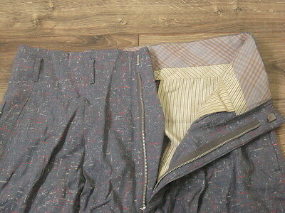 VTG 1950s Rockabilly ATOMIC FLECKED Gabardine Pants/Trousers Two Tone Hollywood