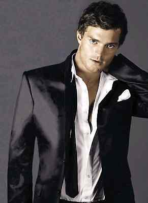 Unofficial JAMIE DORNAN Christian Grey (8) *A3* print Poster - Fifty Shades