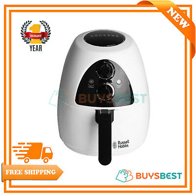 Russell Hobbs Purifry Health Fryer with Timer, 2 L - White - 20810