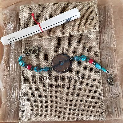 "Energy Muse NURTURE Bracelet 7"" ""COMFORT,HEALING,SUPPORT"" NEW!! EXQUISITE!!"